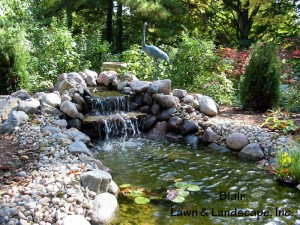 Blair Landscaping Ponds and Water Features