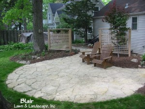 Backyard Flagstone Patio