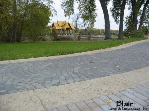 Paver Walkway Leading to Thai Pavilion at Olbrich Gardens